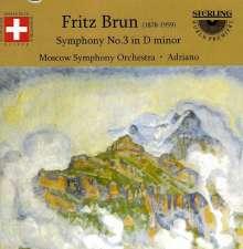 Fritz Brun (1878-1959): Symphonie Nr.3 d-moll (1919), CD