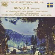 Wilhelm Peterson-Berger (1867-1942): Arnljot (Ausz.), CD