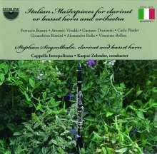 Italienische Werke für Klarinette/Bassetthorn & Orchester, CD