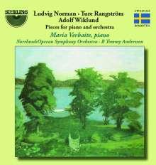 Ture Rangström (1884-1947): Ballade für Klavier & Orchester (1909/37), CD