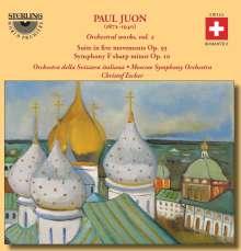 Paul Juon (1872-1940): Orchesterwerke Vol.2, CD