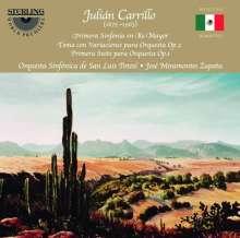 Julian Carrillo (1875-1965): Symphonie Nr.1, CD