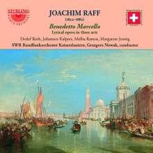 Joachim Raff (1822-1882): Benedetto Marcello (Lyrische Oper in 3 Akten), 2 CDs