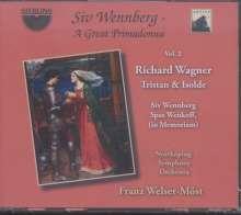 Siv Wennberg - A Great Primadonna Vol.2  (Richard Wagner - Tristan & Isolde / komplette Oper), 3 CDs