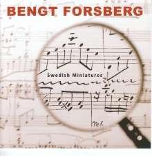 Bengt Forsberg - Swedish Miniatures, CD