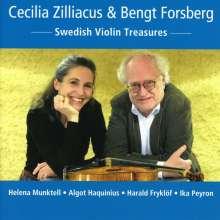 Cecilia Zilliacus & Bengt Forsberg - Swedish Violin Treasures, CD