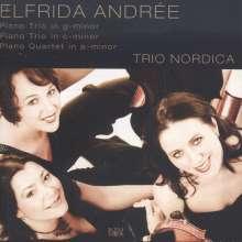 Elfrida Andree (1841-1929): Klaviertrios in c & g, CD