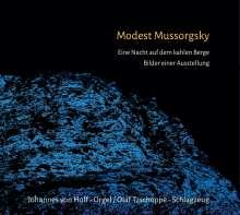 Modest Mussorgsky (1839-1881): Bilder einer Ausstellung (Fassung für Orgel & Schlagzeug), CD