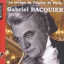 Gabriel Bacquier - La Troupe de l'Opera de Paris, CD