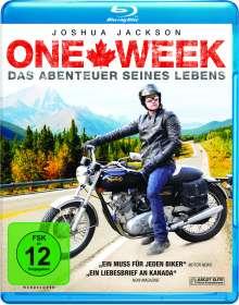 One Week (Blu-ray), Blu-ray Disc
