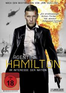 Agent Hamilton, DVD