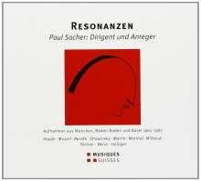 Paul Sacher - Resonanzen, 4 CDs