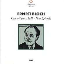 Ernest Bloch (1880-1959): Concerti grossi f.Streicher Nr.1 & 2, CD