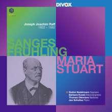 """Joachim Raff (1822-1882): 30 Lieder für Stimme & Klavier op.98 """"Sanges Frühling"""", 2 Super Audio CDs"""