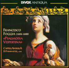 Francesco Foggia (1604-1688): Psalmodia Vespertina, CD