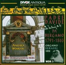 Padre Davide da Bergamo (1791-1863): Orgelwerke, CD