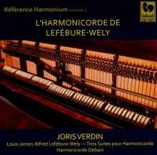 Reference Harmonium Vol.2 - L'Harmonicorde De Lefebure-Wely, CD