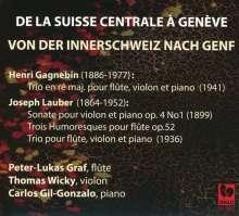 Joseph Lauber (1864-1952): Violinsonate op.4 Nr.1, CD