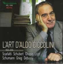 Aldo Ciccolini - L'Art d'Aldo Ciccolini 1925-2015, 8 CDs