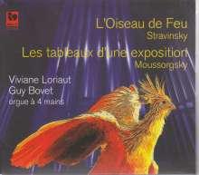 Igor Strawinsky (1882-1971): Der Feuervogel (Fassung für Orgel 4-händig), CD