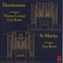 Guy Bovet & Viviane Loriaut, Orgel, 2 CDs