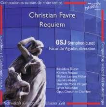 Christian Favre (geb. 1955): Requiem, CD
