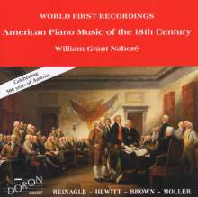 William Grant Nabore - Amerikanische Klaviermusik des 18.Jh., CD