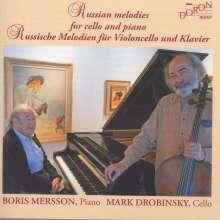 Mark Drobinsky & Boris Mersson - Russische Melodien für Violoncello und Klavier, CD