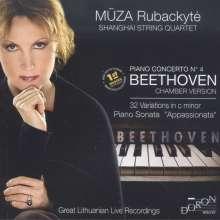 Ludwig van Beethoven (1770-1827): Klavierkonzert Nr.4 (Fassung als Klavierquintett), CD