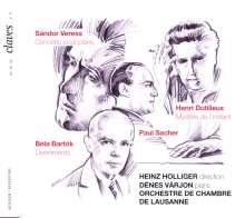 Sandor Veress (1907-1992): Konzert für Klavier,Streicher,Percussion, CD