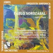 Pablo Sorozabal (1897-1988): Symphonische Variationen, CD