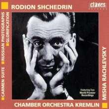 Rodion Schtschedrin (geb. 1932): Russian Photographs (1994), CD