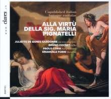 "Italienische Barockkantaten ""Alla Virtu Della Sig. Maria Pignatelli"", CD"