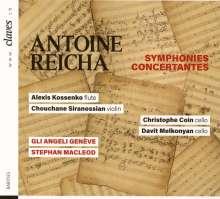 Anton Reicha (1770-1836): Sinfonia concertante für 2 Celli & Orchester, CD