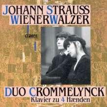 Johann Strauss II (1825-1899): Walzer für Klavier zu 4 Händen, CD
