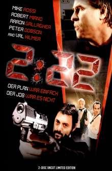 2:22 (Blu-ray & DVD im Mediabook), 1 Blu-ray Disc und 1 DVD