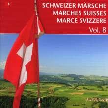 Schweizer Märsche Vol.8, CD