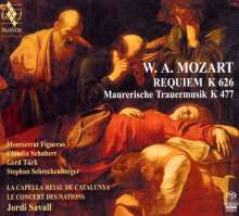 Wolfgang Amadeus Mozart (1756-1791): Requiem KV 626, Super Audio CD