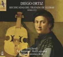 Diego Ortiz (1510-1558): Recercadas del Trattado de Glosas 1553, Super Audio CD