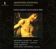 Agostino Steffani (1654-1728): 2 Kantaten, CD