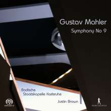 Gustav Mahler (1860-1911): Symphonie Nr.9, Super Audio CD