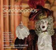 Christian Ludwig Boxberg (1670-1729): Sardanapalus (Oper in deutscher Sprache 1698), 3 CDs
