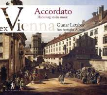 Accordato - Habsburg Violin Music ex Vienna, CD