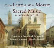 Carlo Lenzi (1735-1805): Lamentaziones I & II, CD