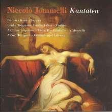 Niccolo Jommelli (1714-1774): Quattro Cantate a voce sola con violini, viola e basso, CD