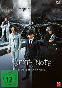 Death Note - Light up the New World, DVD