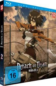 Attack on Titan Vol. 2 (Blu-ray), Blu-ray Disc