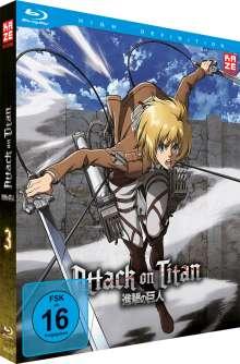 Attack on Titan Vol. 3 (Blu-ray), Blu-ray Disc