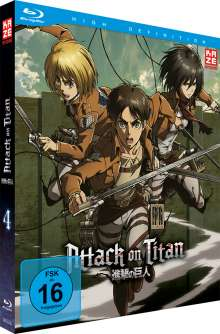 Attack on Titan Vol. 4 (Blu-ray), Blu-ray Disc