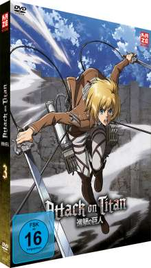 Attack on Titan Vol. 3 (Limited Edition), DVD
